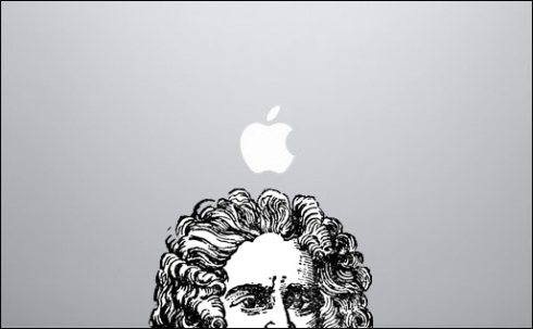Is Newton's apple just a maggot-infested myth? (credit: dreamiurg)